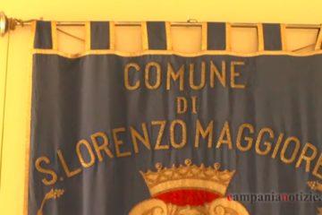 Gonfalone del Comune di San Lorenzo Maggiore